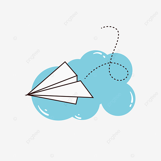 Gambar Pesawat Kertas Putih Dan Bahan Kartun Cloud Png Gratis Pesawat Terbang Pesawat Kertas Pesawat Vektor Png Dan Vektor Dengan Latar Belakang Transparan Untuk Unduh Gratis