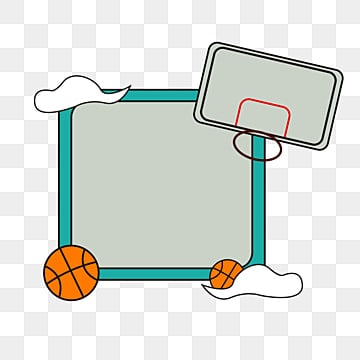 Basketball Border Png Vector Psd And Clipart With Transparent Background For Free Download Pngtree