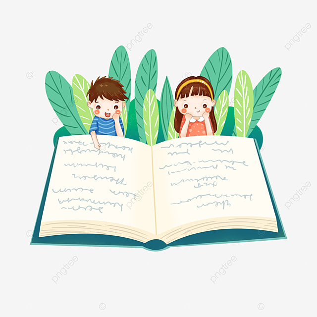 Elementary School Nursery Children Reading Books And Reading Book Clipart Children Child Png Transparent Clipart Image And Psd File For Free Download