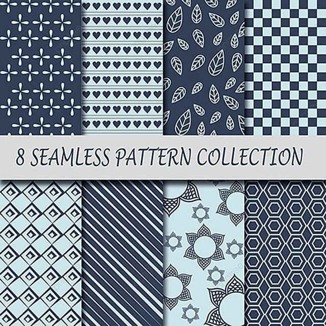 Vintage Pattern Collection, Background, Wallpaper, Brackdrop PNG And Vector
