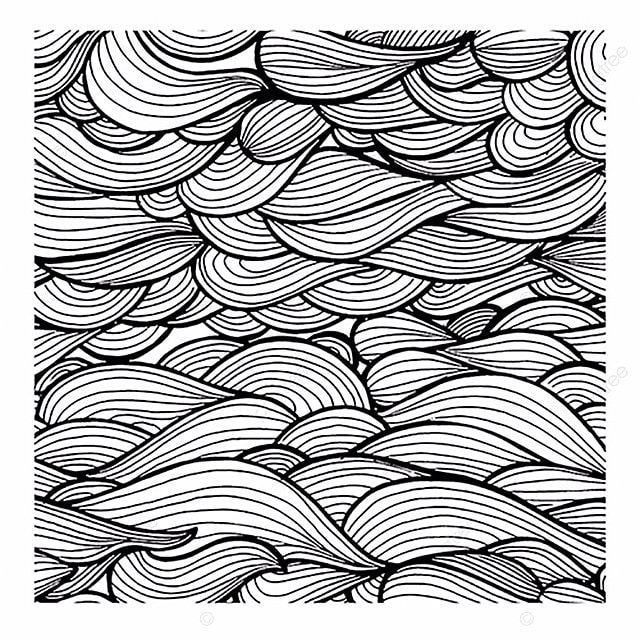 Simple Black And White Patterns Backgrounds Line Pattern Png Vector