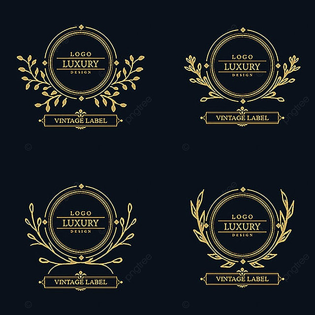 vector amazing luxury logo designs logo royal crest png and