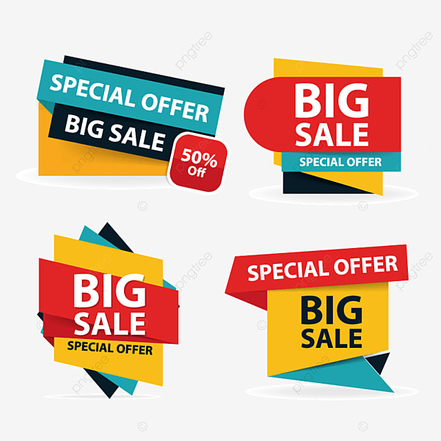 Colorful Shopping Sale Flyer Poster Brochure Template