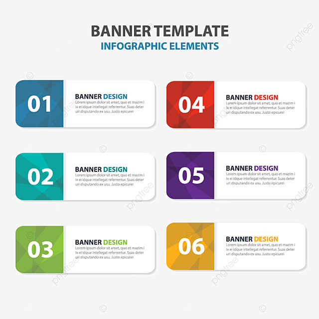 abstract colorful triangle business infographics elements, Powerpoint templates