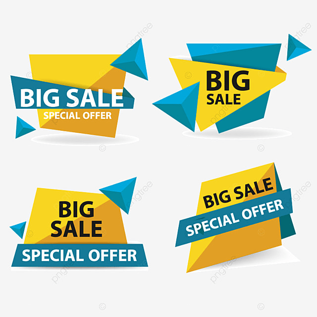 colorful shopping sale banner template sale banner offer png and