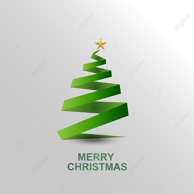 merry christmas greetings with christmas tree and also with stars christmas vector tree vector