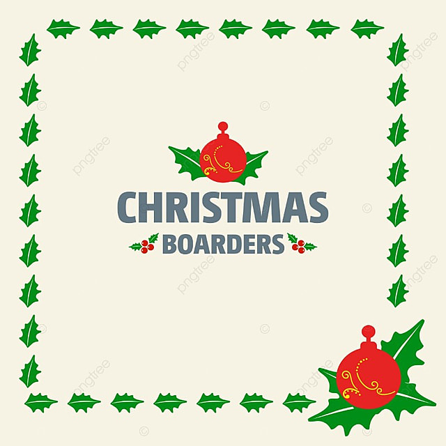 chrismtas borders with leaves christmas card blue png and vector