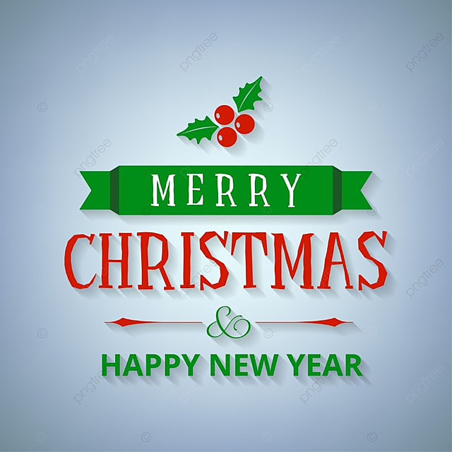 merry christmas and new year greetings card vector christmas card happy png and