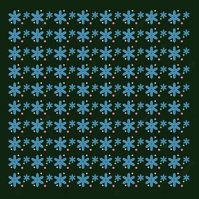 Los Copos De Nieve Patrón Azul, Navidad, Merry, Vector PNG y Vector ...