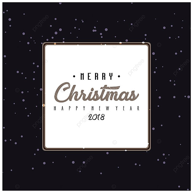 christmas card black christmas merry new png and vector