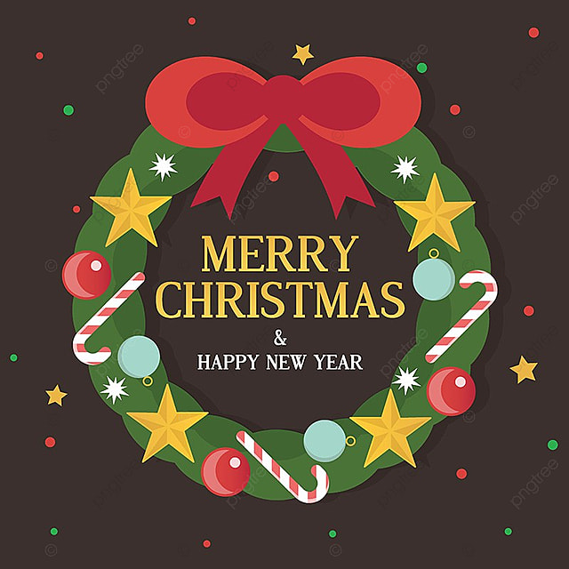 Merry Christmas Greeting Card, Background, Christmas, Pattern PNG And Vector