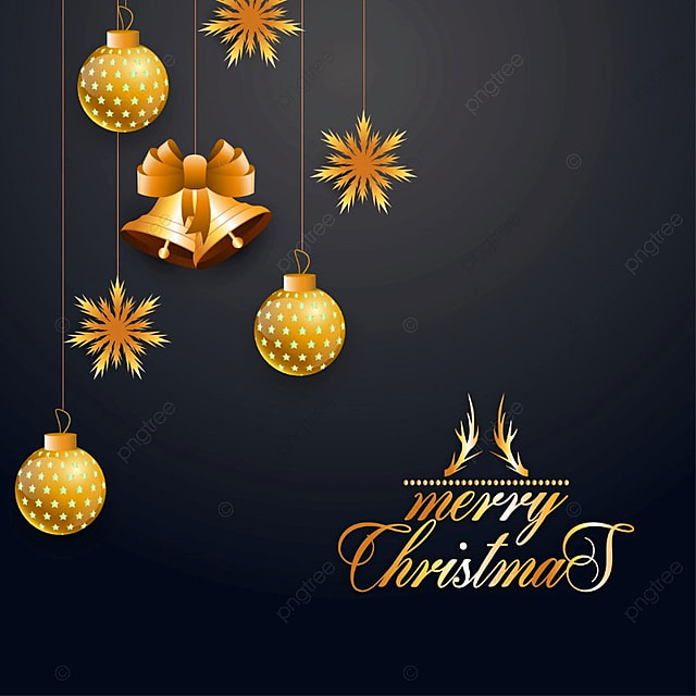 Merry Christmas Greeting Card, Background, Vector, Xmas PNG And Vector