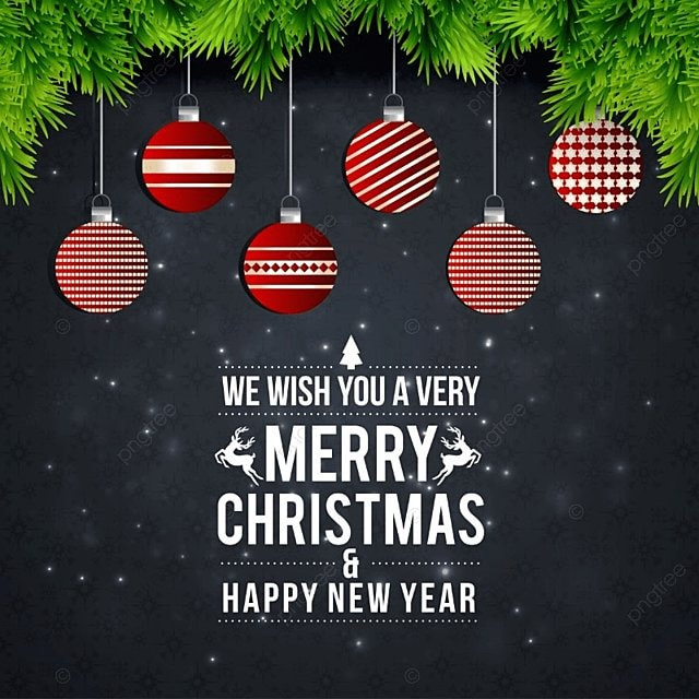 Christmas Card Dark, Background, Vector, Xmas PNG And Vector