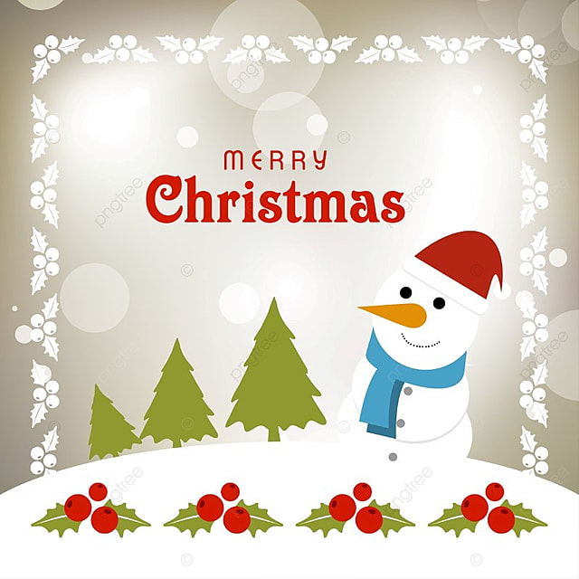 Christmas typography with snowman x mass and snow and border merry christmas typography with snowman x mass and snow and border merry vector m4hsunfo