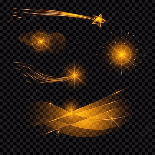 Light Effect Set Lights Background Design Png And