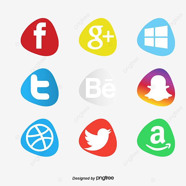Social Media Icons Collection, Logo, Technology, Icon PNG ...