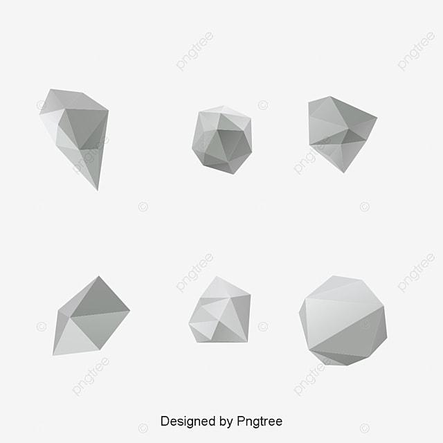 أشكال هندسية مجردة, Design, Abstract, 3d PNG و فيكتور