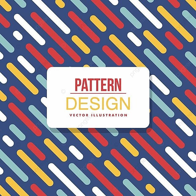 Abstract Background Illustration With Pattern Vector Illustration
