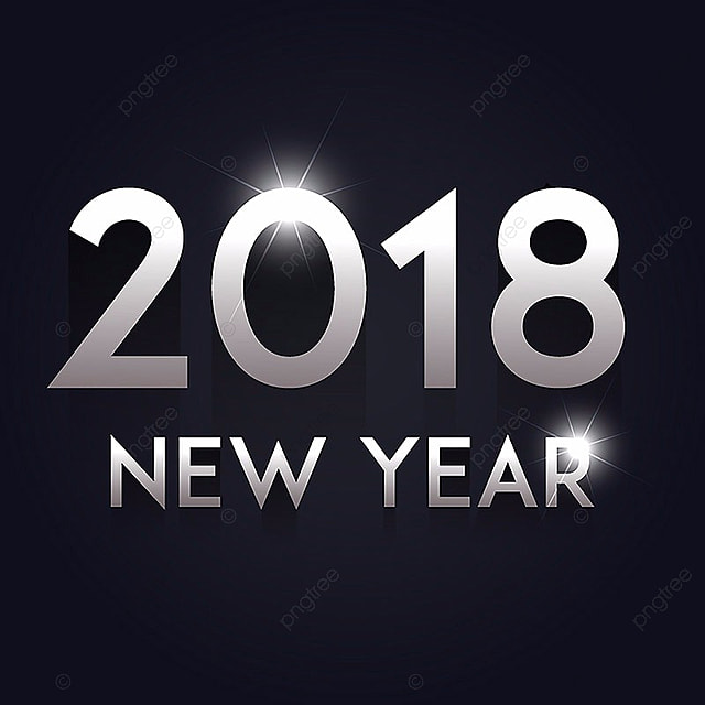 gray gradient vector new year 2018 background gradient vector new vector new png