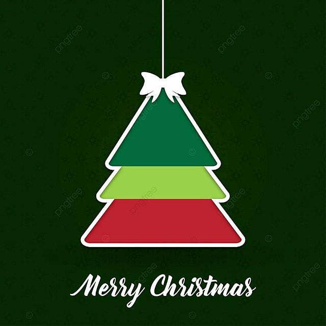 Autos De Navidad Con El Arbol Y Fondo Oscuro Background Pancarta