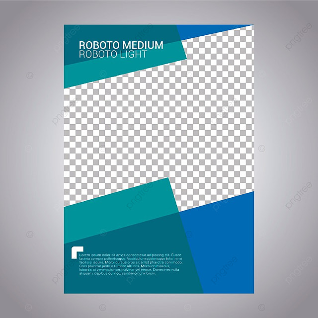Geometric Business Report Template Brochure Flyer Business Png