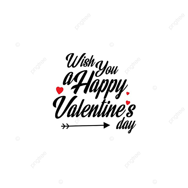 Wish You A Happy Valentine S Vector Valentine S Day 14 Png And
