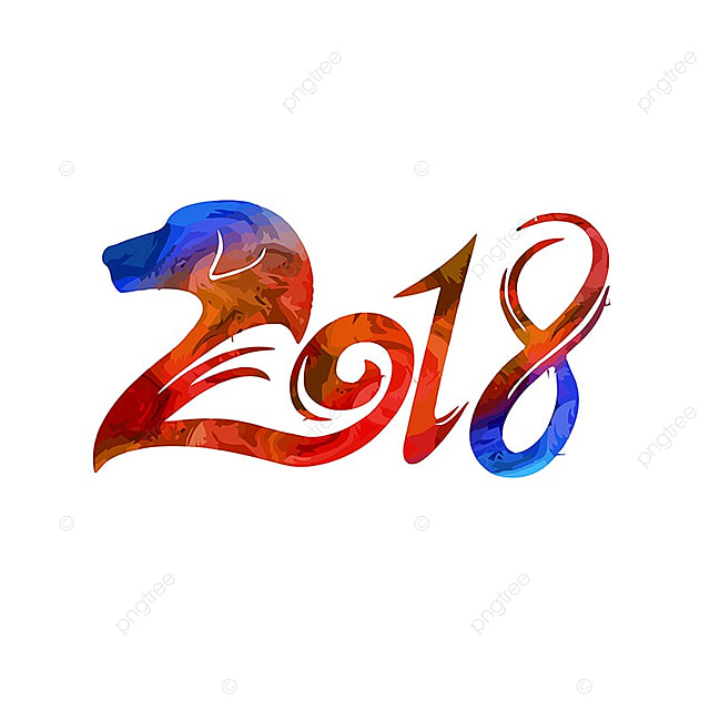 Chinese new year 2018, 2018, Chinese New Year, New Year PNG and Vector