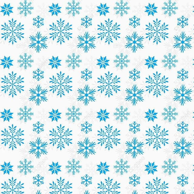 Diseño De Fondo De Patrón De Copos De Nieve, Background, Pattern PNG ...