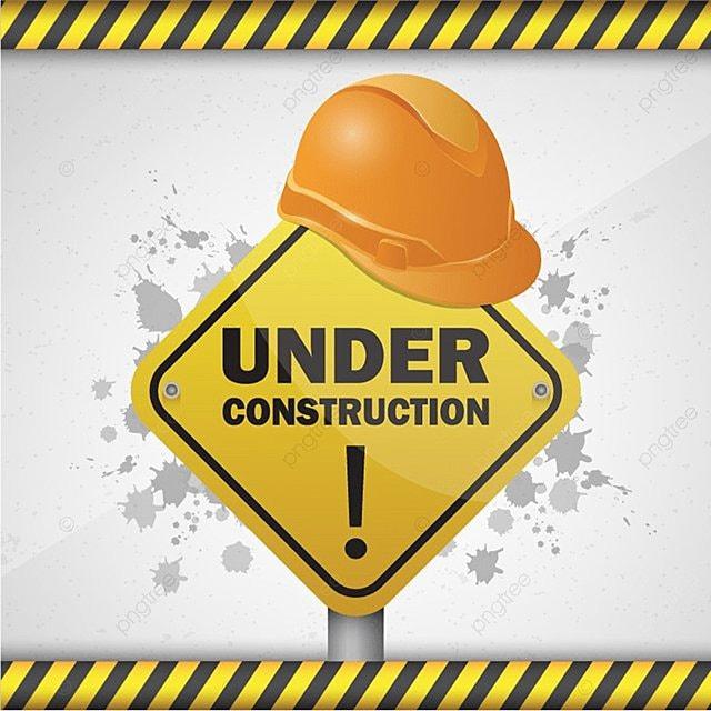 Vector Illustration Background Of Website Under Construction