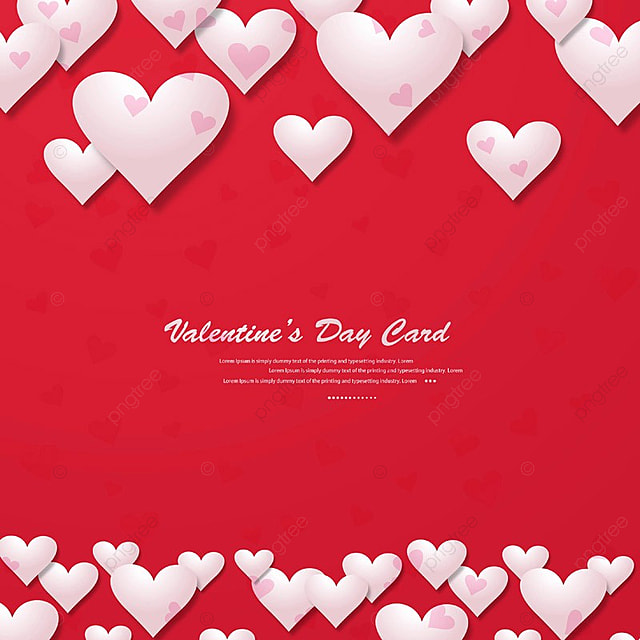 Happy Valentine S Day Greeting Card Background Valentine Day