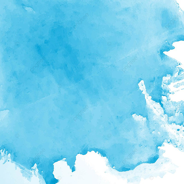 Modern blue watercolor background watercolor abstract for Watercolor painting templates free
