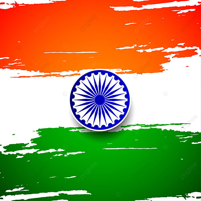 Abstract Indian Flag Theme Background Design Flag Of India