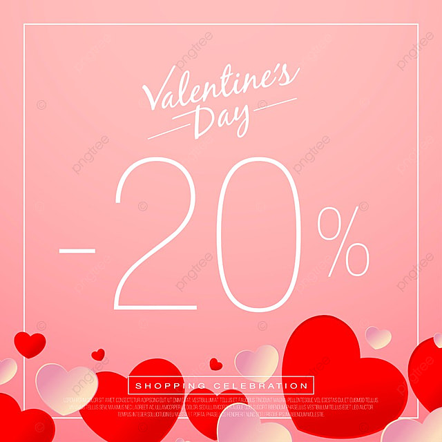 Valentine day sales, special offers and discounts, Day, Sale ...