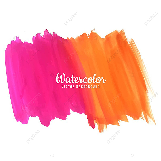 Modern Colorful Watercolor Background Banner Watercolor Abstract
