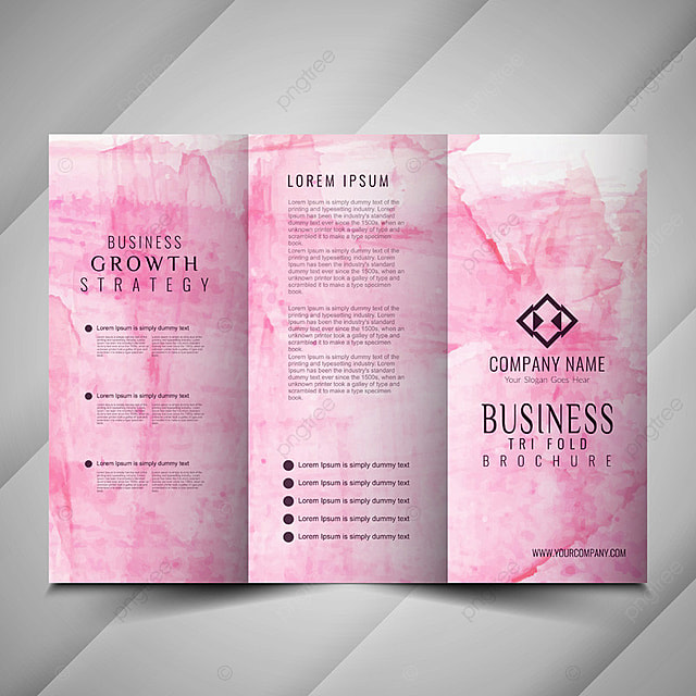 abstract trifold brochure design  abstract  advertising
