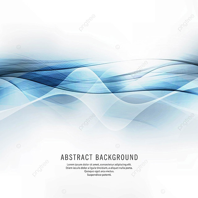 Abstract Beautiful Shiny Blue Wave Background, Abstract ...