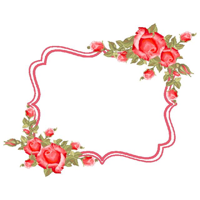 Marco Flores, Marco, Flor, Rosas PNG y Vector para Descargar Gratis
