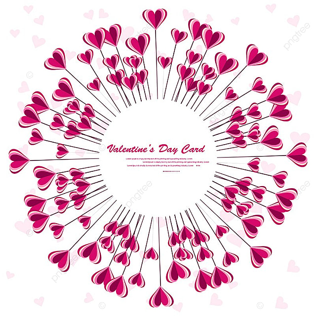 valentines day greeting card vector design illustration. happy ...