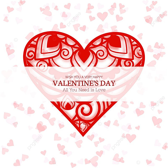 Happy Valentine S Day Creative Background Illustration Valentine