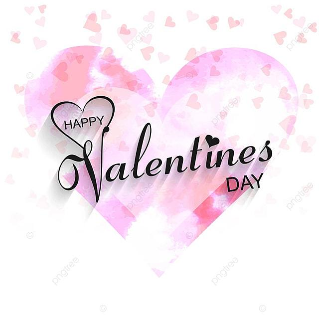 Happy valentine\'s day love card heart design illustration ...