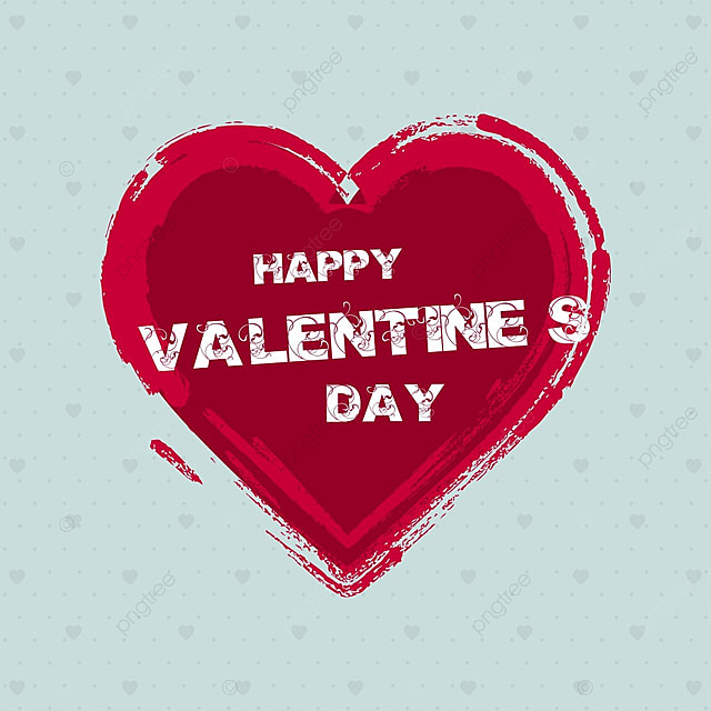 happy valentine s card with hearts and pattern backgrounds day