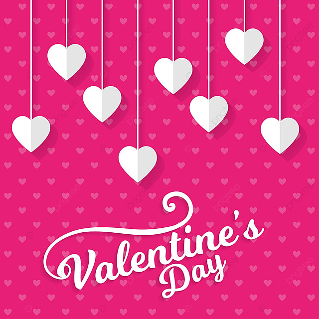 valentine s card with pattern background day valentine valentines