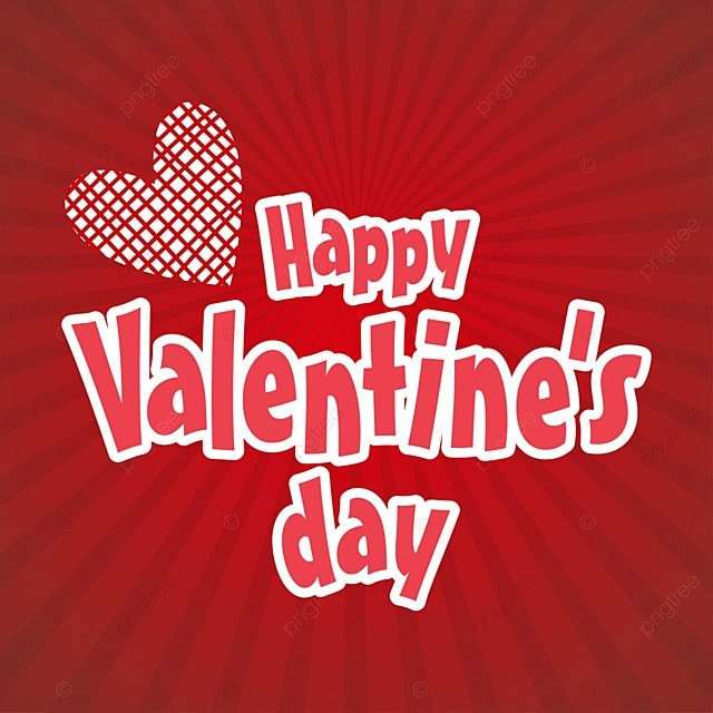 Happy Valentine\'s card with red pattern background, Day, Valentine ...