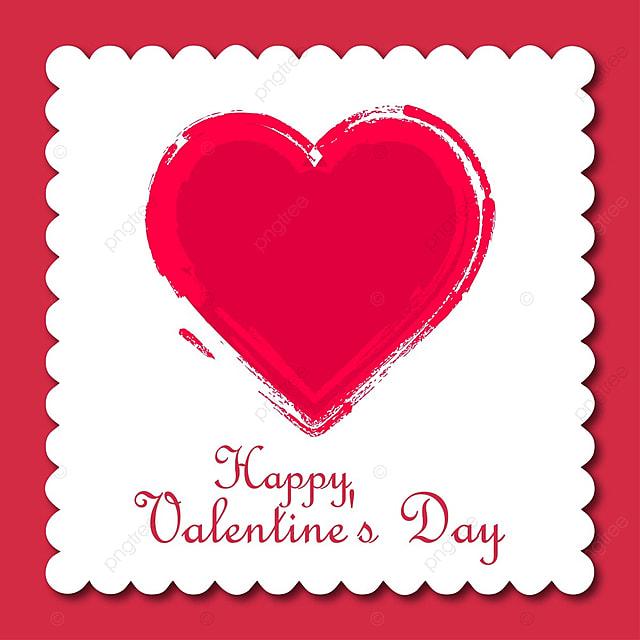 valentine s card with frame background day valentine valentines