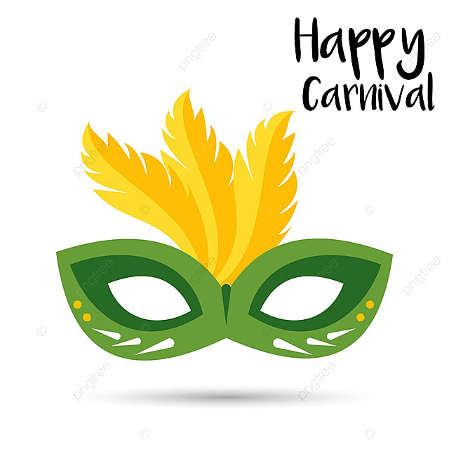 Carnival Card With Mask Vector Background PNG And Copyright Complaint Download The Free