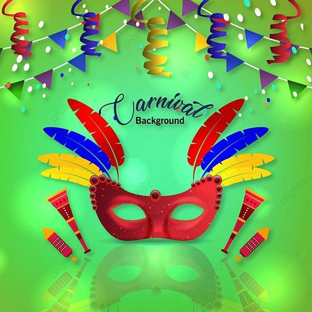 Carnaval de fondo con mascara, Mascara, Carnaval, Vector PNG y Vector