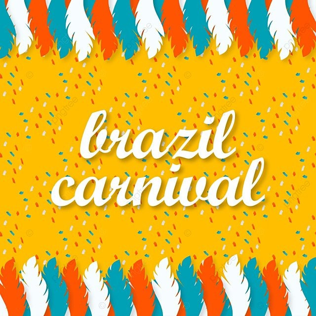 le brésil fête foraine typographie avec la tendance historique, Masque, Carnaval, PourimPNG et vecteur