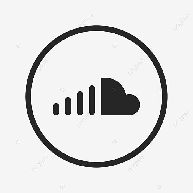 soundcloud icon soundcloud sound cloud png and vector for free