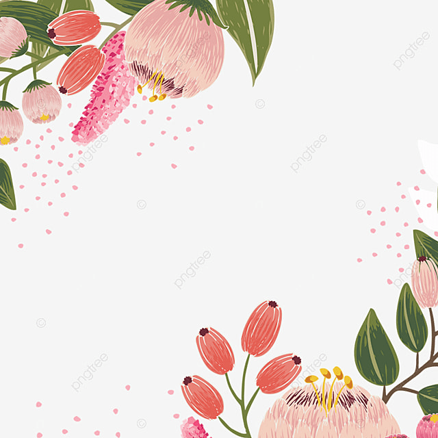 Watercolor Flowers Png Vector Psd And Clipart With: Vintage Flor Flor Vector Design Vintage Flores Flor