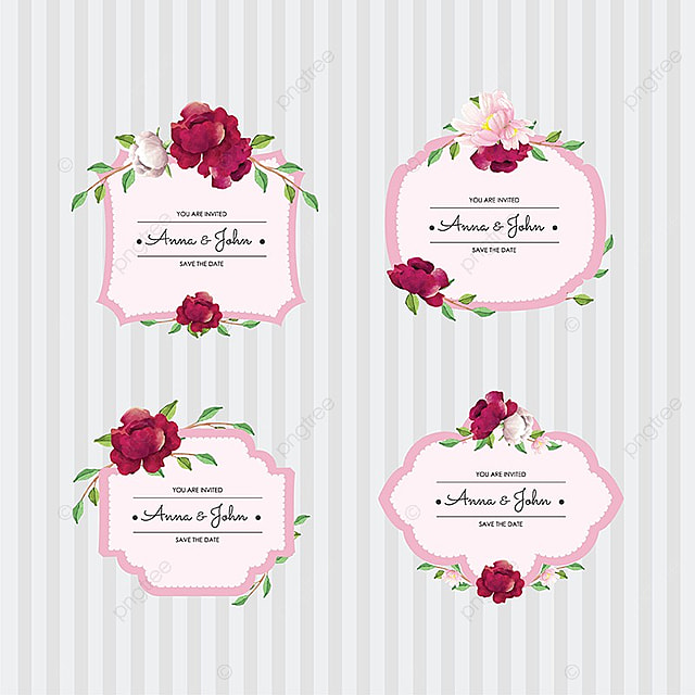 Wedding badge wedding invitation label png and vector for free wedding badge wedding invitation label png and vector stopboris Images